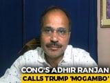 "Video : Congress Leader Likens Donald Trump To Bollywood Villain ""Mogambo"""