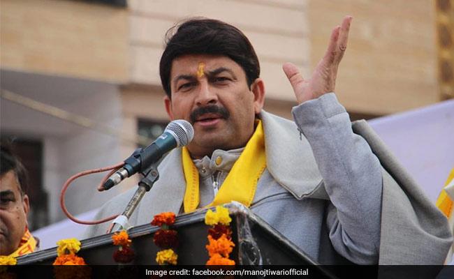 """""""Tahir Hussain Made Advance Preparations For Violence In Delhi"""": Manoj Tiwari"""