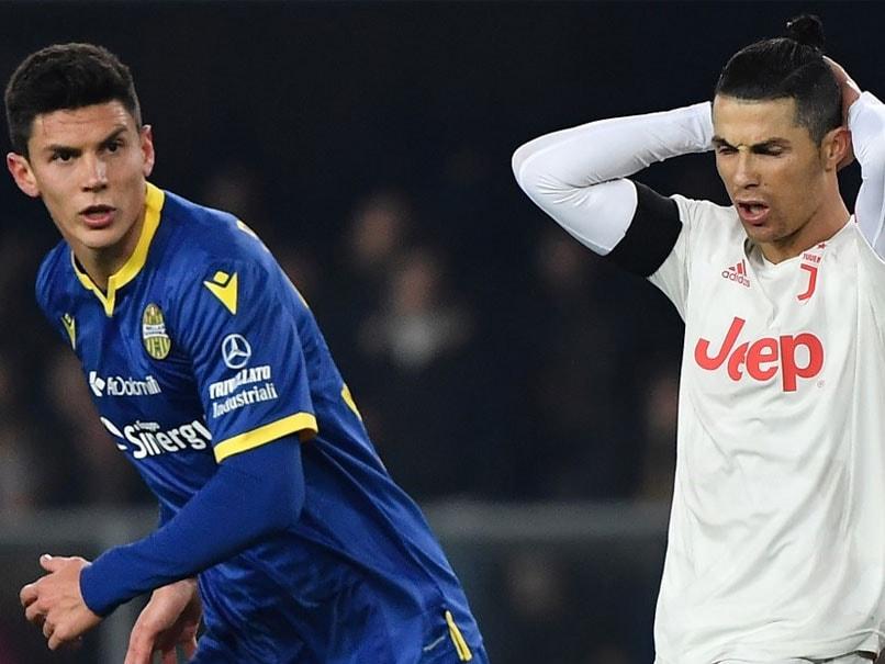 Serie A: Cristiano Ronaldo Sets Scoring Record But Juventus Lose To Hellas Verona