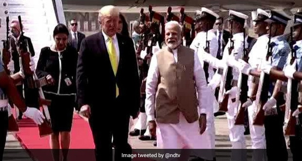 US President Donald Trump To Be Greeted With Khaman, Chai And Samosa During His Visit To Sabarmati Ashram In Ahmedabad