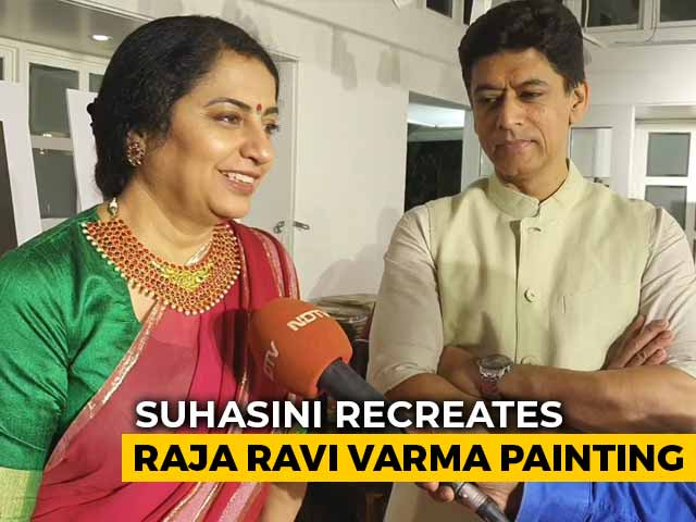 Video : Suhasini Mani Ratnam Recreates Raja Ravi Varma's Paintings