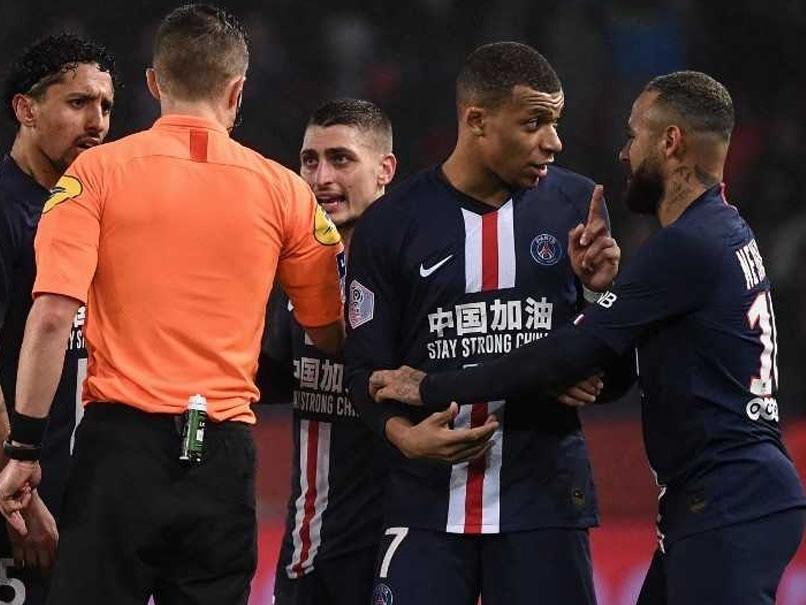 Neymar Sent Off As PSG Beat Bordeaux In Seven-Goal Thriller