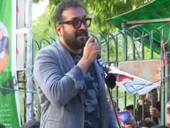 """Patience, Not Violence, Key To Victory"": Anurag Kashyap At Jamia Protest"