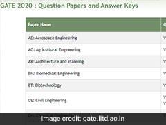 GATE 2020 Answer Key: गेट 2020 परीक्षा की आंसर-की जारी, इस डायरेक्ट लिंक से करें डाउनलोड