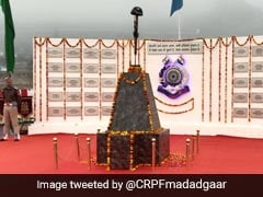 Memorial For 40 CRPF Jawans Killed In Line Of Durty Inaugurated In Pulwama