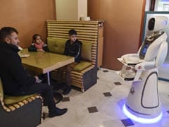 Meet Timea, First-Ever Robot Waitress In War-Torn Afghanistan