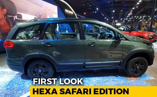 Video : Tata Hexa Safari Edition First Look