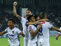 ISL: Lucian Goian Nets Winner As Chennaiyin Qualify For Playoffs