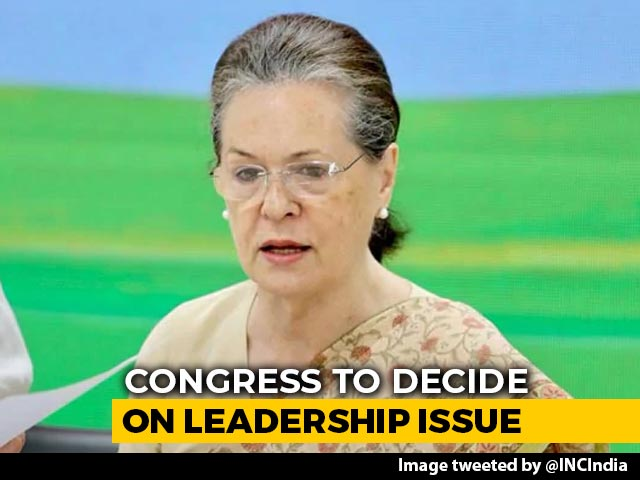Sonia Gandhi To Stay Or Go? Congress To Decide Leadership Issue In April
