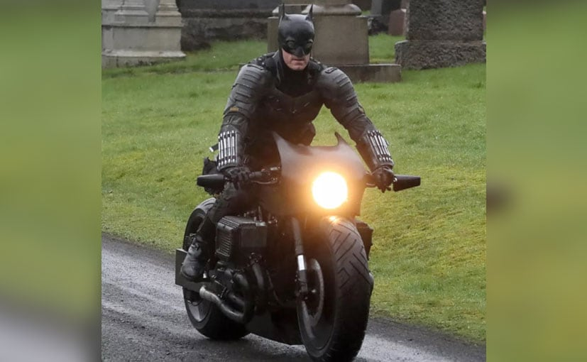 The new Batpod looks takes a modern-classic route with the Bat-ear shaped cowl | Pic Credit: Getty Images