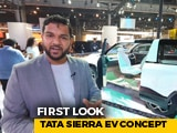 Video: Tata Sierra EV Concept First Look