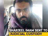 Video : Jamia Violence: Sharjeel Imam In Judicial Custody