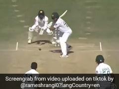 पाक बल्लेबाज ऐसी बेवकूफी कर हुआ आउट, हाथ में बल्ला फिर भी किया ऐसा... टिकटॉक पर उड़ा मजाक- देखें Video