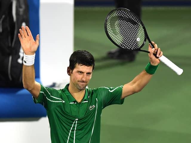 Novak Djokovic Continues Hot Streak To Cruise Into Second Round In Dubai