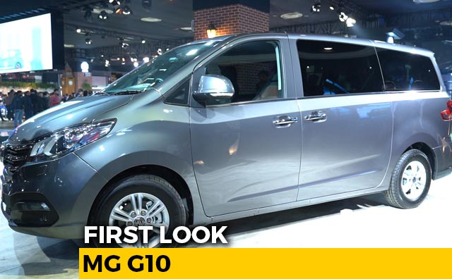 First Look MG G10