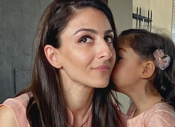 Soha Ali Khan Reveals How Daughter Inaaya Is Battling Hot Summer Days And We Are All Hearts!
