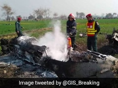 Pakistan Air Force Plane Crashes During Routine Training Mission, Third In 2 Months