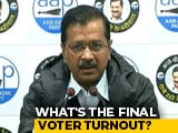 """Video : """"Absolutely Shocking"""": Arvind Kejriwal As Poll Body Sits On Delhi Turnout"""