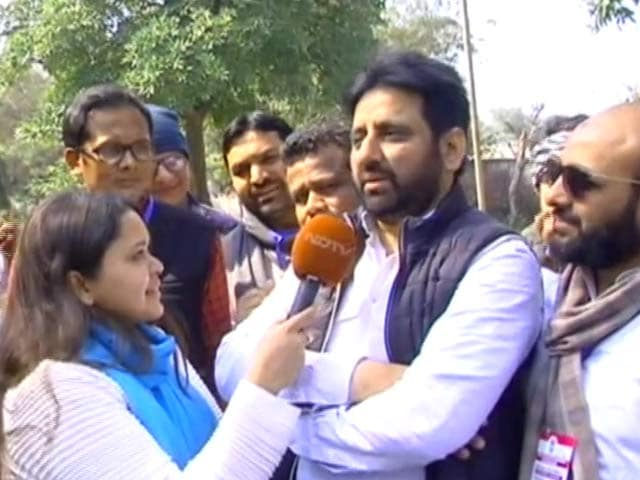 """Video : Two Crore People Of Delhi Have """"Shocked"""" Amit Shah: Amanatullah Khan"""