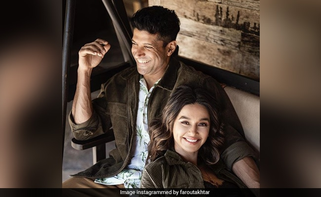 Farhan Akhtar And Shibani Dandekar Celebrate Two Years Of Togetherness With '730 Not Out' Post. See Pic