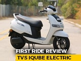 Video : TVS iQUBE First Ride Review