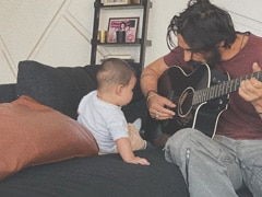 Inside Arjun Rampal's Jamming Session With Son Arik. See Adorable Pic