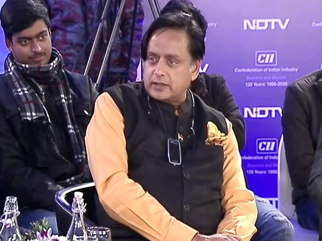Video : Shashi Tharoor On Government's Fiscal Target