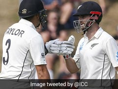New Zealand vs India 1st Test Day 2 Live Score: Kane Williamson, Ross Taylor Put New Zealand In Complete Control