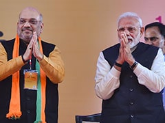 "Year Into PM's 2nd Term, Amit Shah's ""6 Years, 6 Decades"" Dig At Congress"