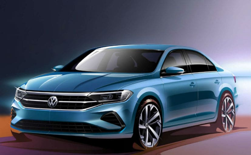 Next-Generation Volkswagen Vento Official Sketches Revealed For Russia