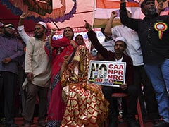 Muslim Couple Gets Married At Anti-CAA Protest In Chennai