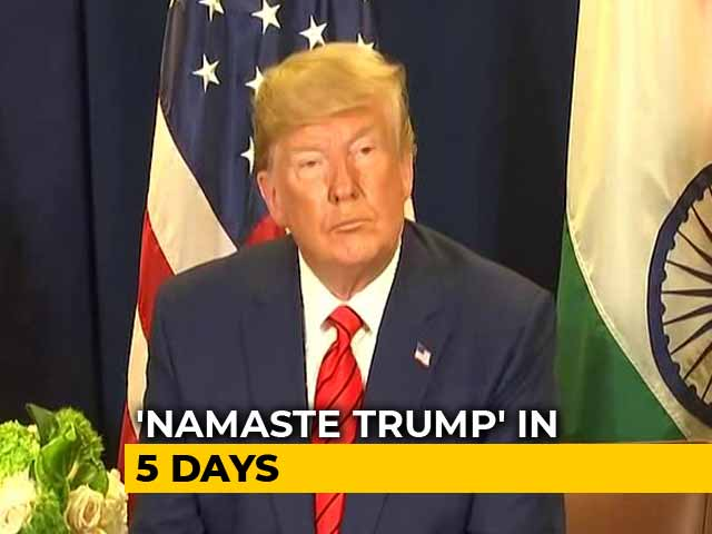 Video : Biggest Cricket Stadium, Taj Mahal On Sked For Trump's First India Visit