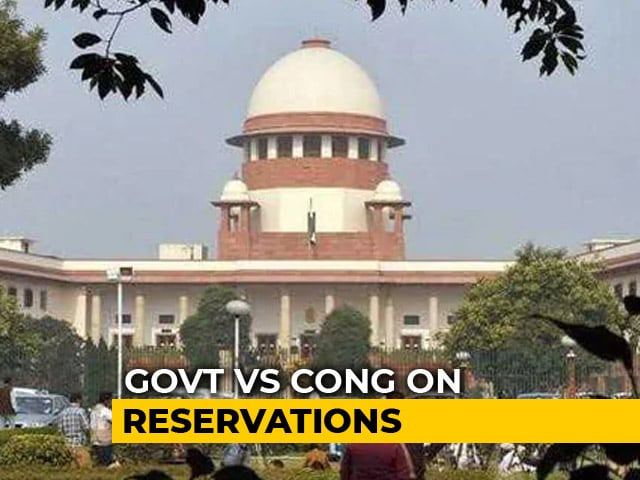 "Video : ""Reservations For Jobs, Promotions Not A Fundamental Right"": Supreme Court"