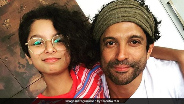 Farhan Akhtar Celebrates Daughter Akira's Birthday With A Special Cake