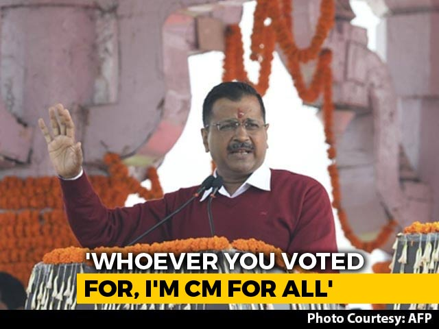 'I Forgive Opponents For Their Remarks': Arvind Kejriwal