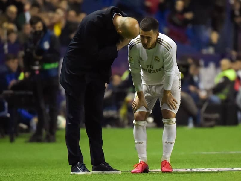 Real Madrids Eden Hazard Suffers Fracture Ahead Of Manchester City Clash