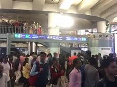 दिल्ली: राजीव चौक मेट्रो स्टेशन पर लगे 'देश के गद्दारों को, गोली मारो...' के नारे, 6 लोग हिरासत में