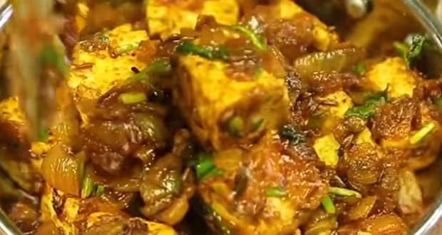 Protein-Rich Diet: Make This Quick Paneer Pyaz Sabzi When You Want To Take It Easy In The Kitchen