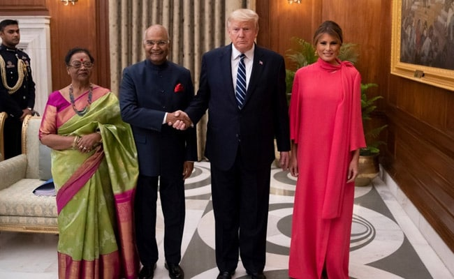Donald Trump Concludes India Visit, Emplanes For US