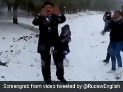 Weatherman Fends Off Snowball Attack While Reporting Live, Twitter Amused