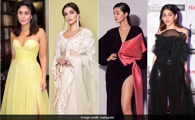 Filmfare Awards Curtain Raiser 2020: Kareena, Sonam Kapoor, Ananya Panday, Alaya's Red Carpet Style File