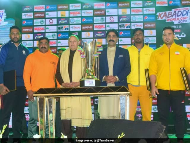 World Championship In Pakistan Unauthorised Event, Says World Kabaddi Federation