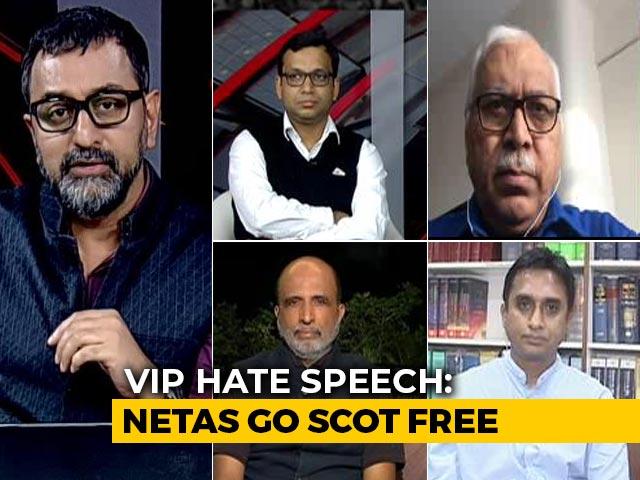 Video : VIP Hate Speech: Politicians Go Scot Free