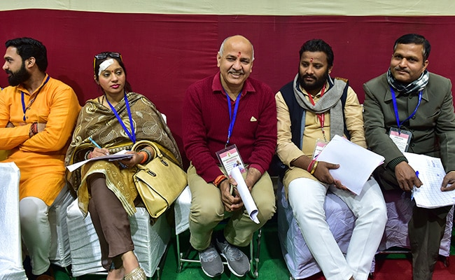 AAP's Manish Sisodia Wins After Big Scare In Delhi Elections