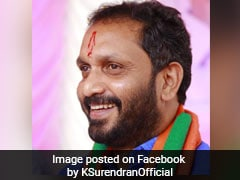 BJP Appoints K Surendran As Kerala Unit President
