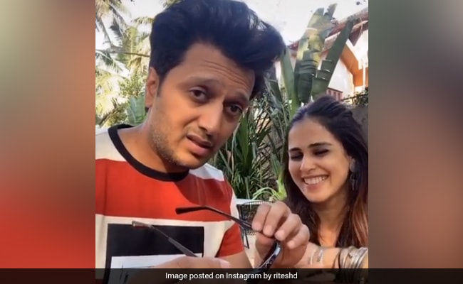 Riteish Deshmukh's Video Is Hilarious But 'Do Not Try This Stunt At Home'