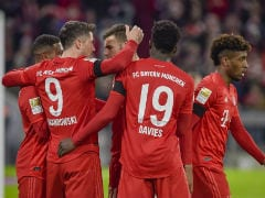Bundesliga: Robert Lewandowski Brace Helps Bayern Munich Squeeze Past Paderborn
