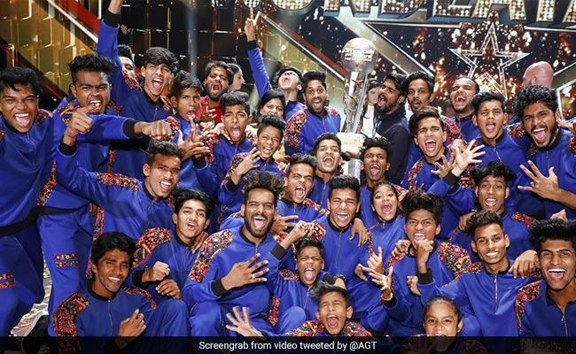 Mumbai Dance Group V Unbeatable Wins America's Got Talent Season 2
