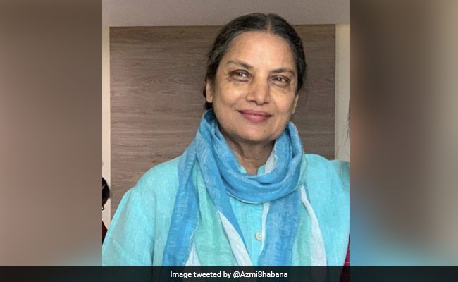 Shabana Azmi Returns Home, Thanks Fans For Prayers In A Tweet
