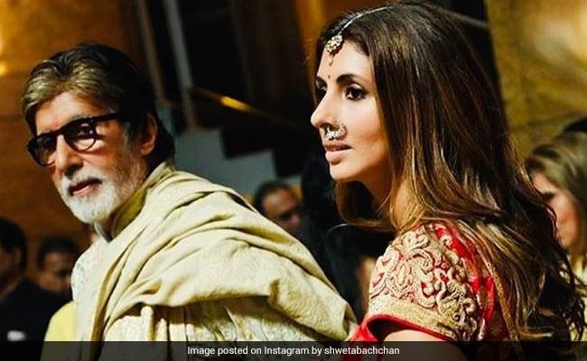 বাবার ছবিতে কী লিখে সবার মন জয় করলেন Shweta Bachchan?